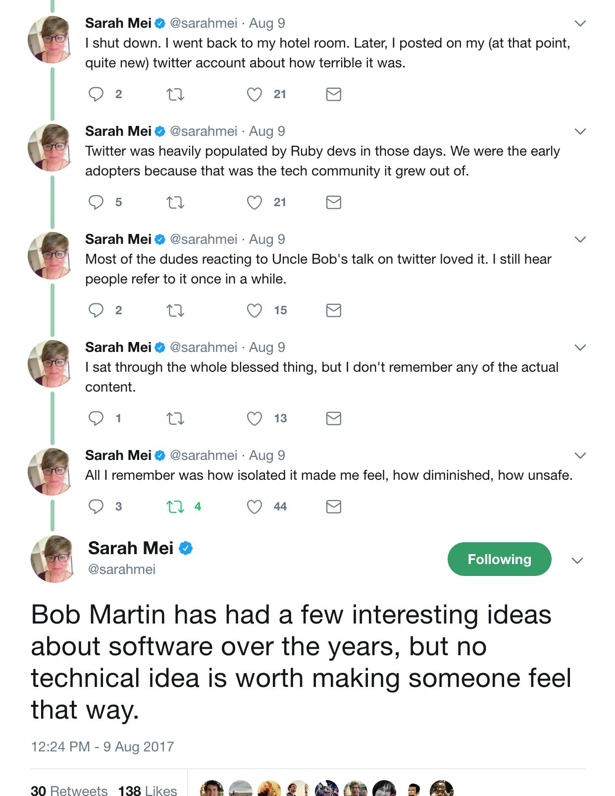 Sarah Mei Bob Martin