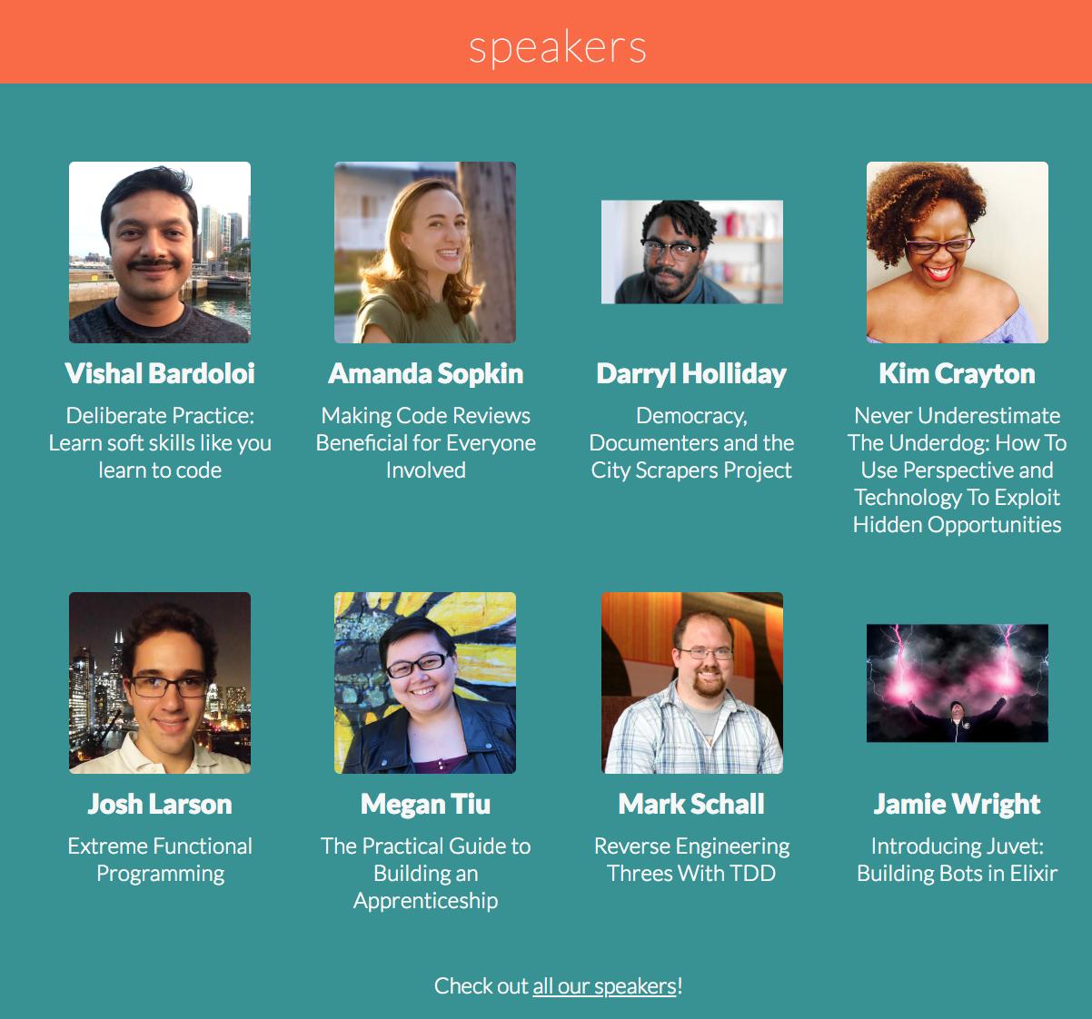 Self.Conference, Detroit, Aug 2018