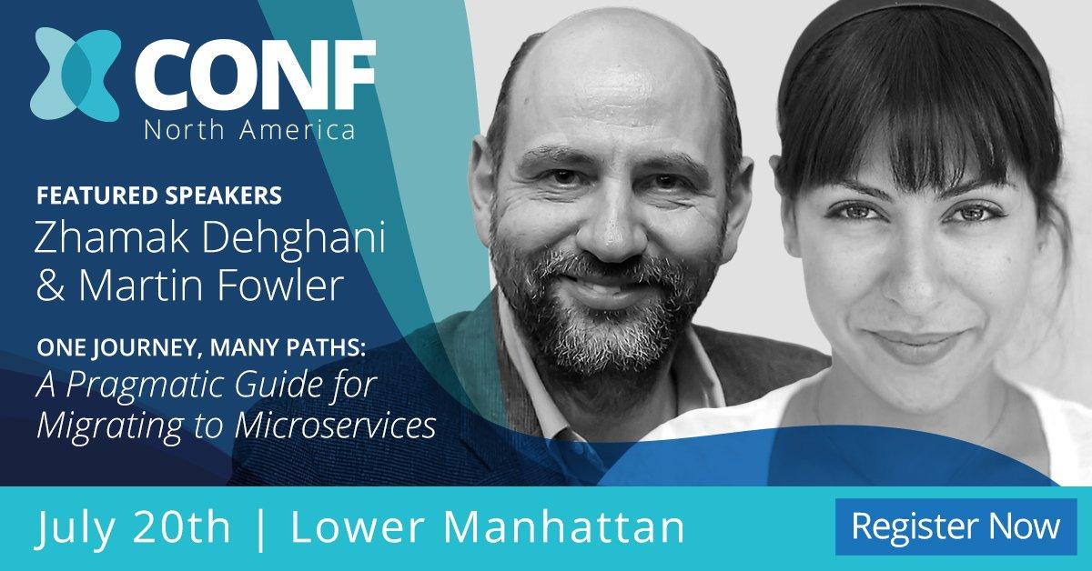 XConf NY, Martin Fowler & Zhamak Dehgani