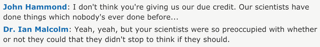 Ian Malcolm Jurassic Park Exchange