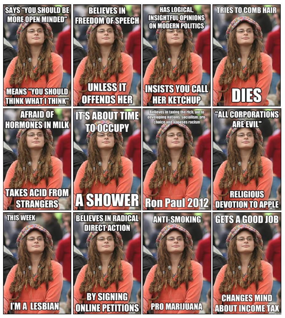 College Liberal Meme